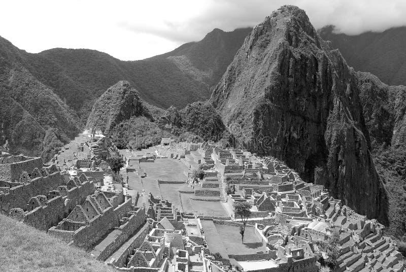 Machu Picchu royalty-vrije stock foto's