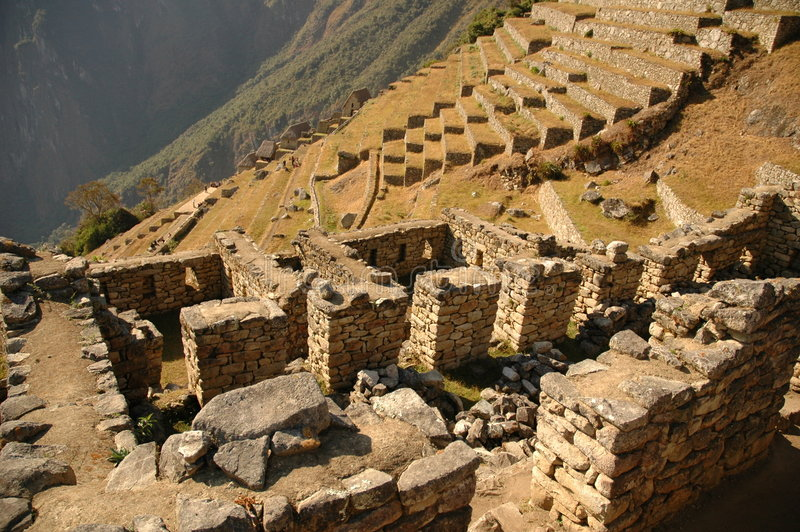 Download Machu Picchu Agricultural Terraces Stock Photo - Image: 197220