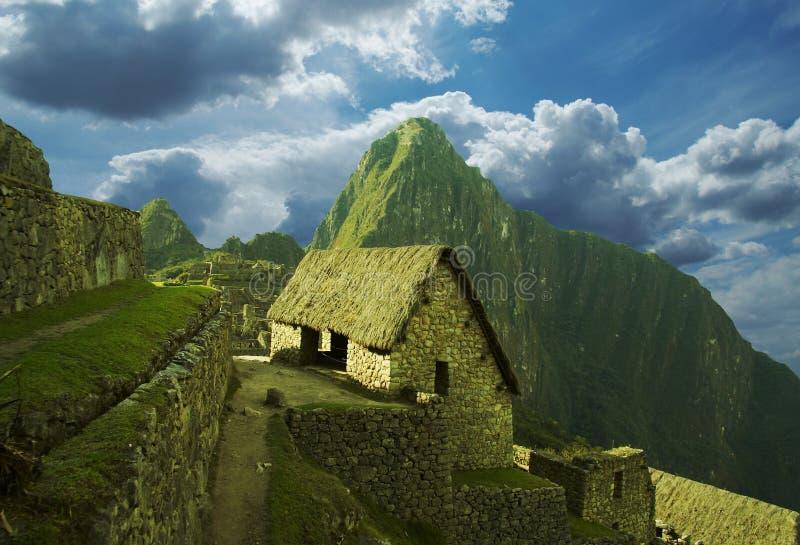 Machu-Picchu city stock photo