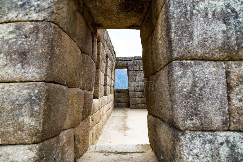 Machu Picchu, Cusco, Περού, Νότια Αμερική στοκ φωτογραφία