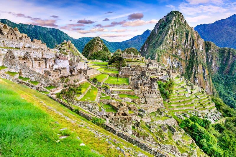 Machu Picchu, Cusco au Pérou images libres de droits