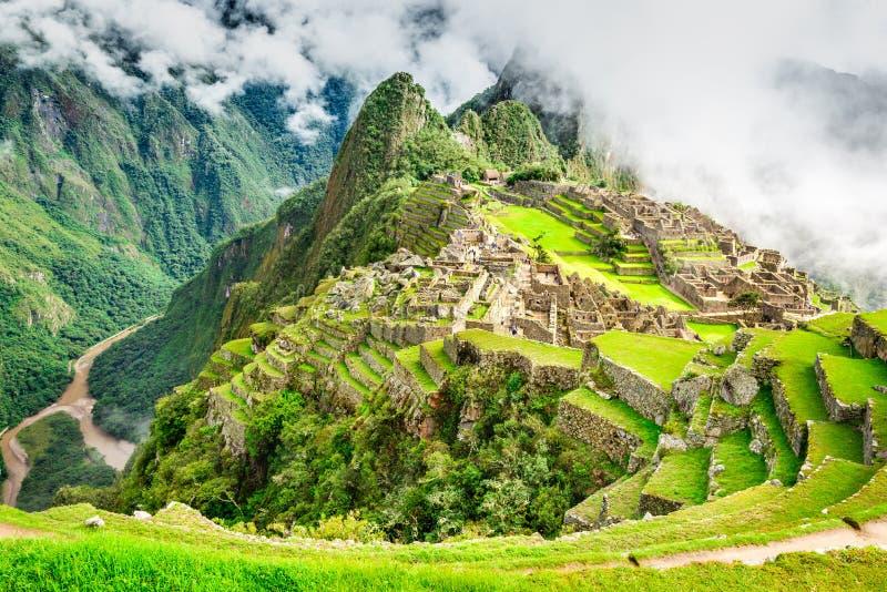 Machu Picchu, Cusco - P?rou image libre de droits