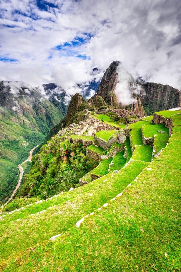 Machu Picchu, Cusco - P?rou images libres de droits