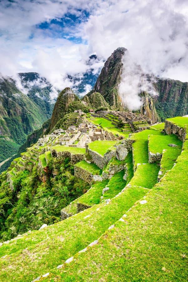 Machu Picchu, Cusco - Perù immagini stock