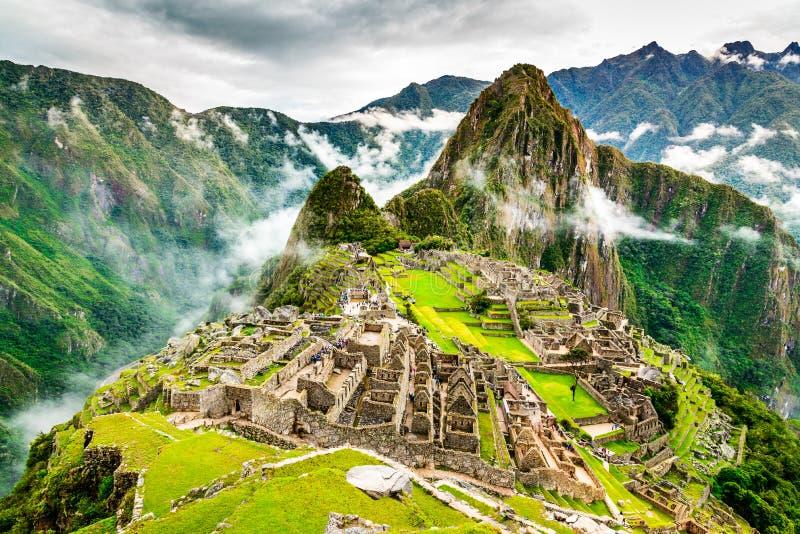 Machu Picchu, Cusco - Peru stockfotos