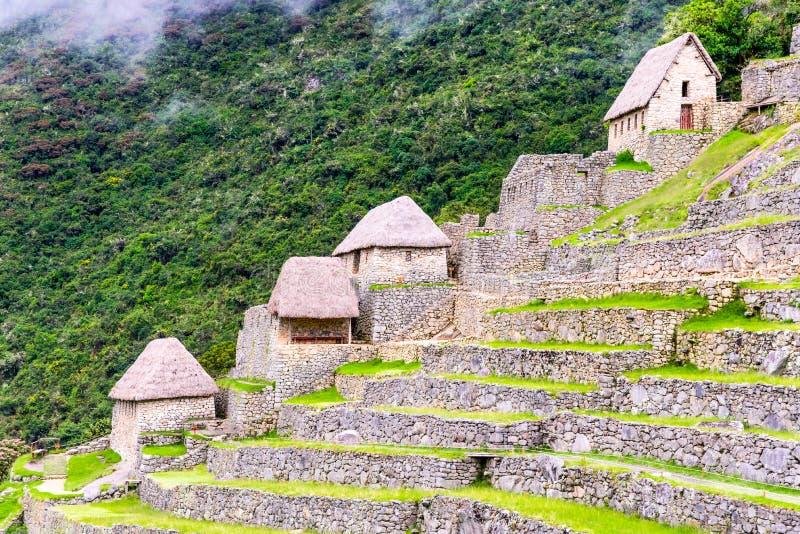 Machu Picchu, Cusco - Peru i Sydamerika royaltyfria bilder