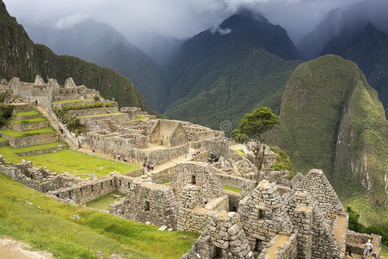 Machu Picchu, the Mecca of every traveler royalty free stock images