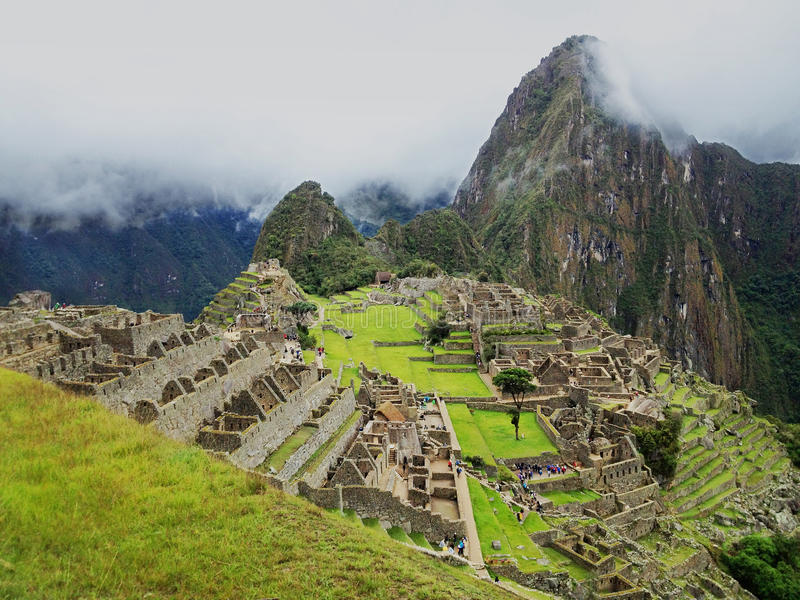 Machu Picchu, Cuzco, Peru royalty free stock photo