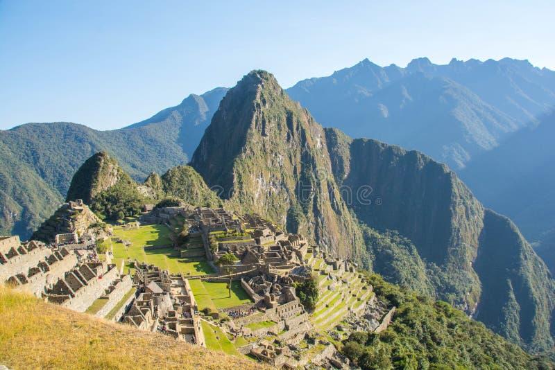 Machu Picchu detaljer arkivfoto