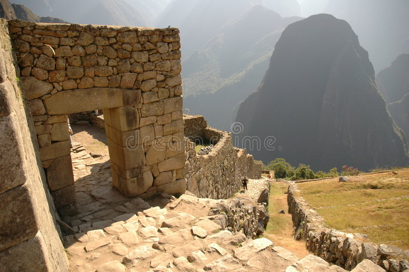 Download Machu Picchu Doors And Area Stock Photo - Image of stonework, settlement: 196940