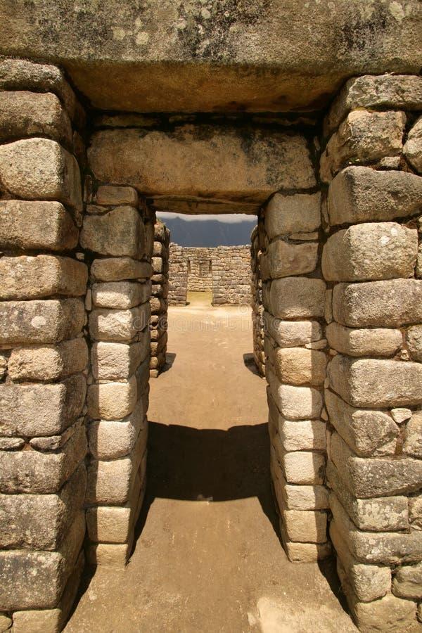 Free Machu Picchu Doorway Royalty Free Stock Image - 2028116