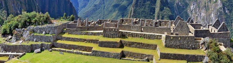 Machu Picchu - est une ville sacrée d'empire d'Inca images libres de droits