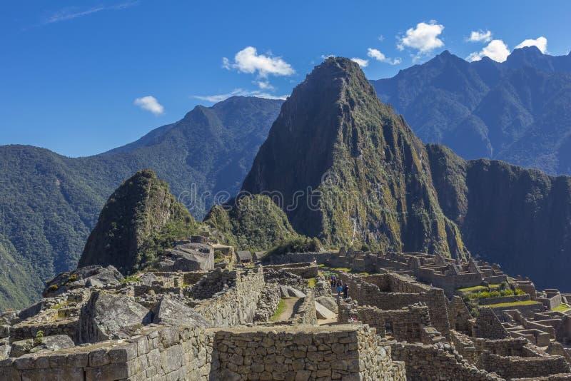 Machu Picchu fördärvar Cuzco Peru royaltyfria foton