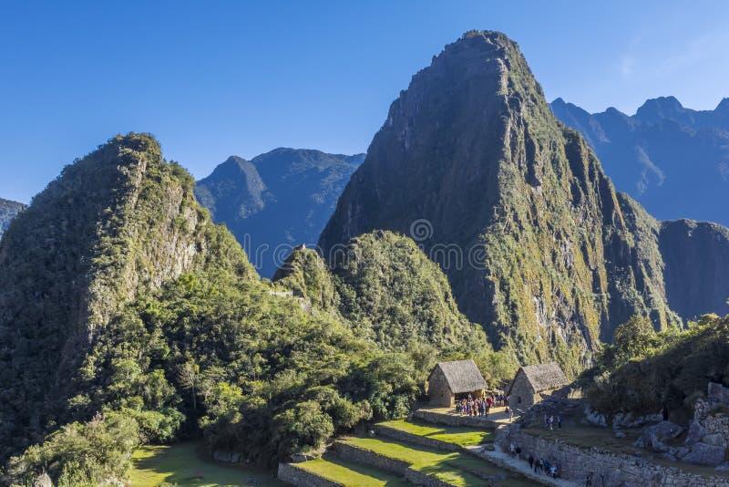 Machu Picchu fördärvar Cuzco Peru royaltyfria bilder