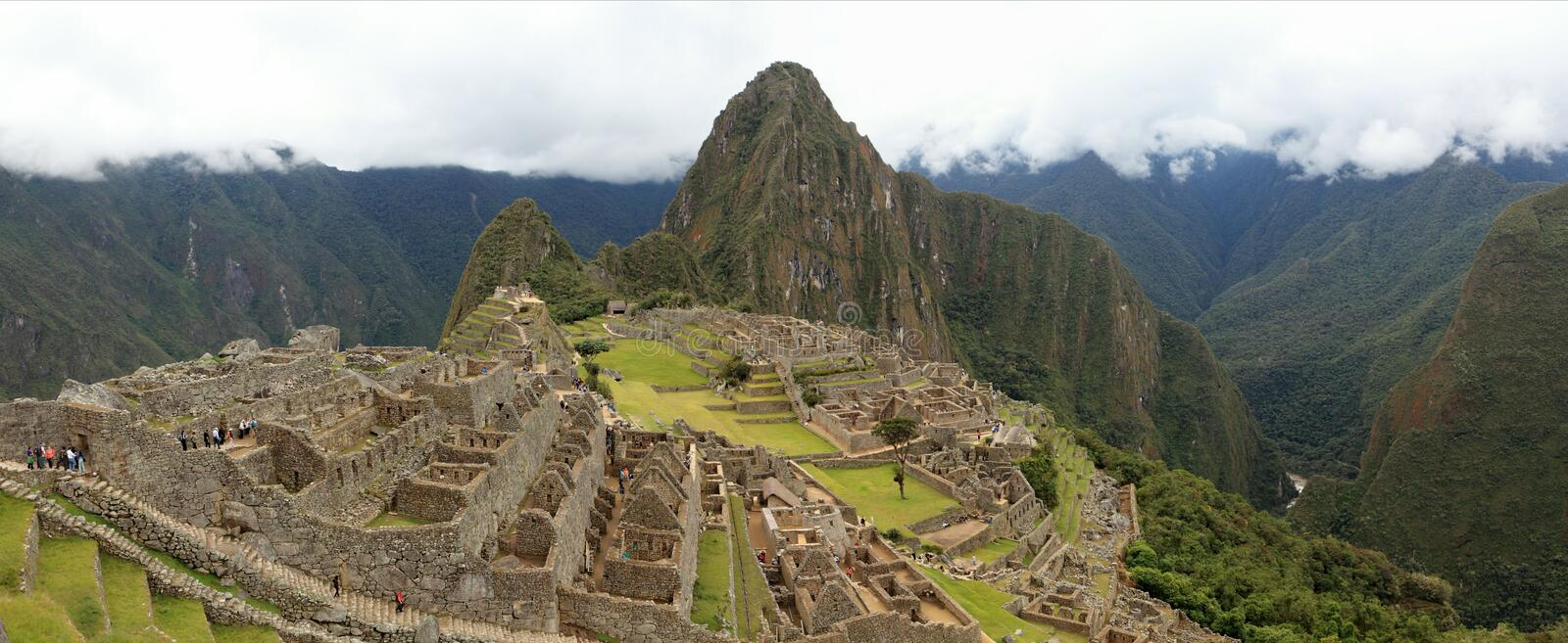 Download Machu Picchu The Hidden Inca City In The Clouds Stock Image - Image: 33620117