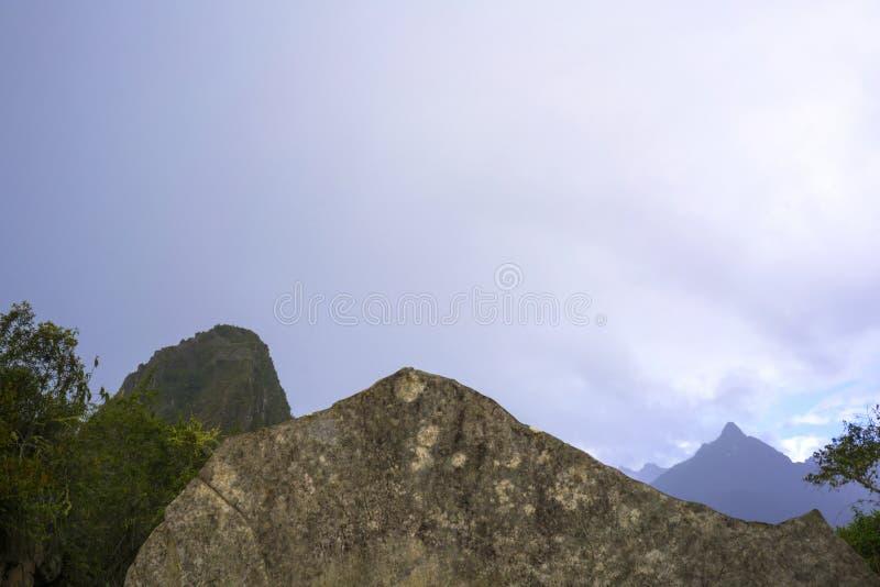 Machu Picchu, La Mecca di ogni viaggiatore immagine stock libera da diritti