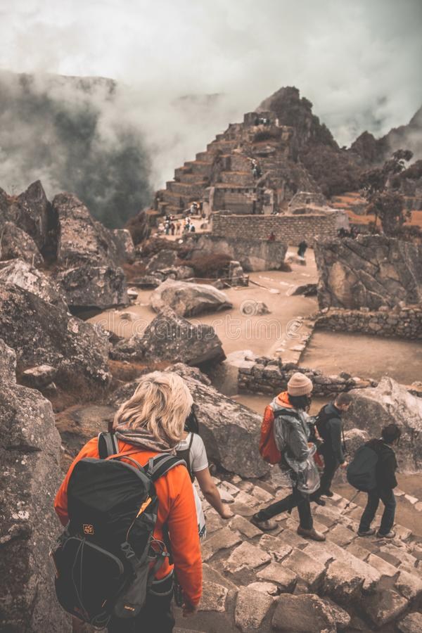 Machu Picchu the lost city of the Incas. Imagen royalty free stock images