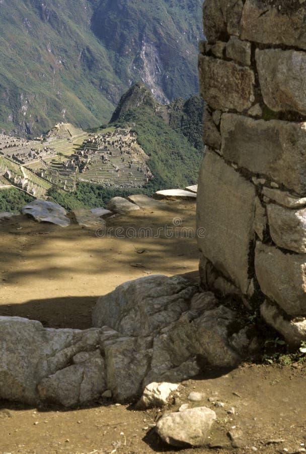 Machu Picchu- Pérou photo libre de droits
