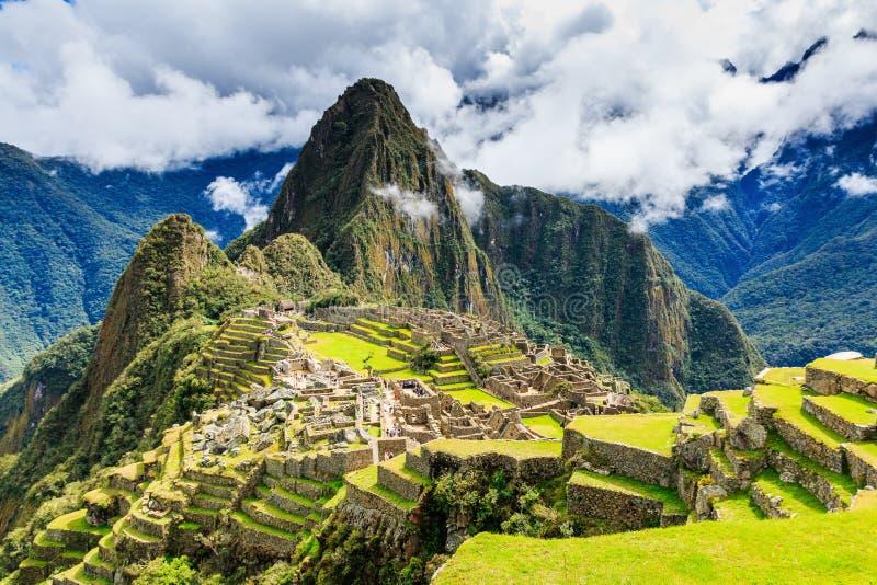 Machu Picchu, Pérou images libres de droits