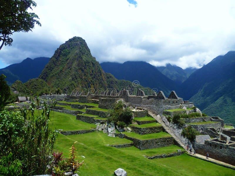 Machu Picchu, Perú imagens de stock royalty free