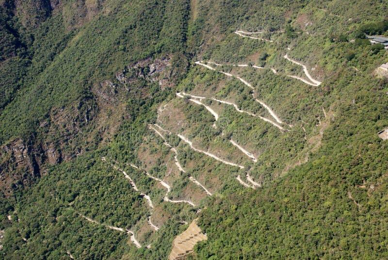 Machu Picchu, Perù immagini stock