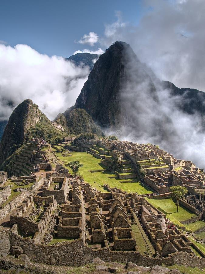 Machu Picchu (Perù) fotografia stock libera da diritti