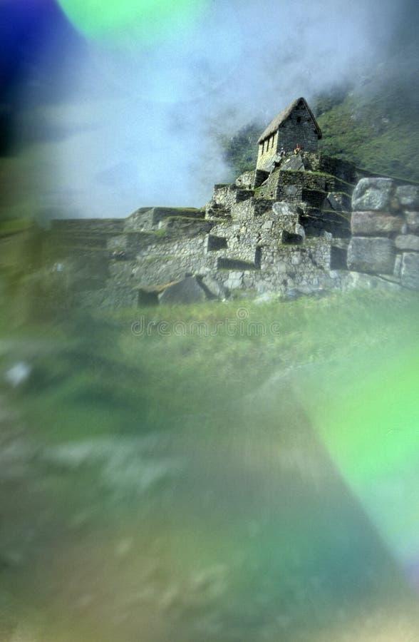 Machu Picchu- Perú imágenes de archivo libres de regalías