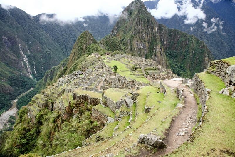 Machu Picchu, Perú. imagenes de archivo