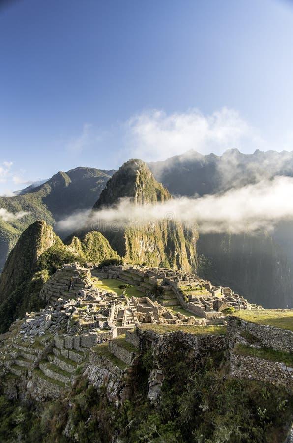 Machu Picchu, Perú imagenes de archivo