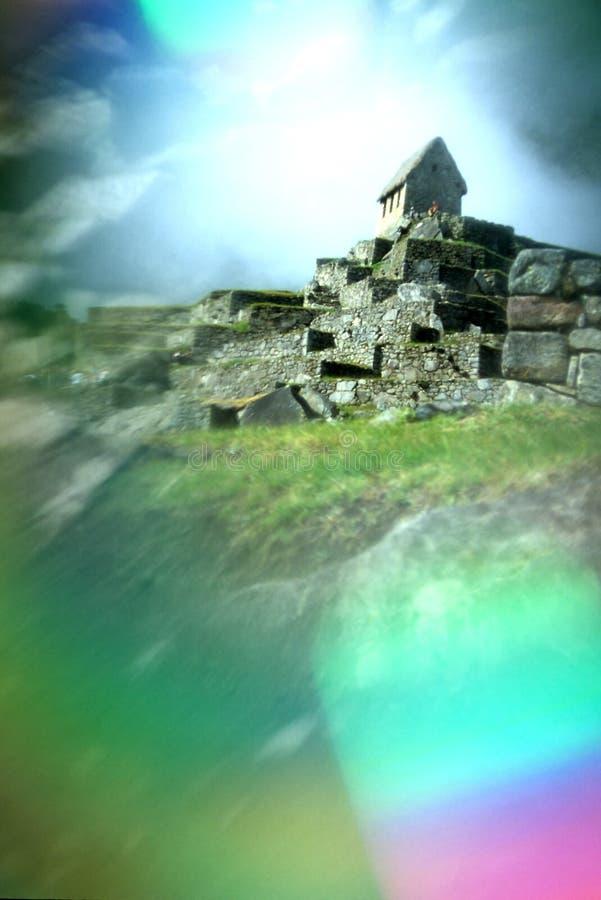 Machu Picchu- Perú foto de archivo libre de regalías