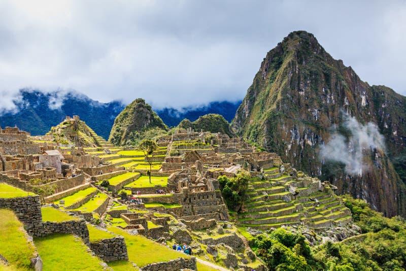 Machu Picchu, Perú foto de archivo