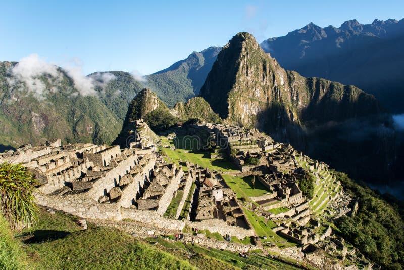 Machu Picchu Peru royalty-vrije stock afbeelding
