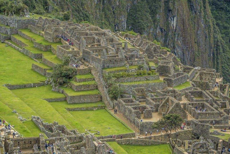 Machu Picchu Peru fotografia de stock
