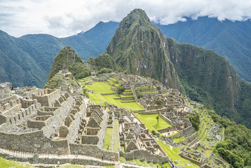 Machu Picchu Peru imagem de stock royalty free