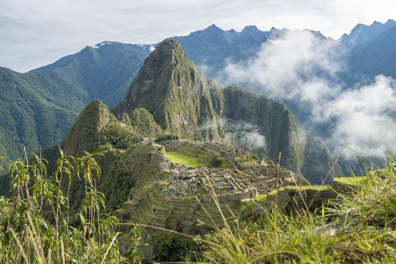 Machu Picchu Peru imagem de stock