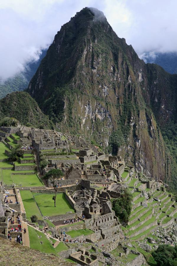Machu Picchu Peru stockfotos
