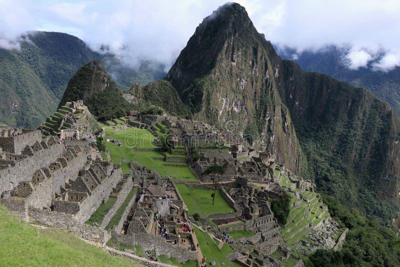 Machu Picchu Peru imagens de stock