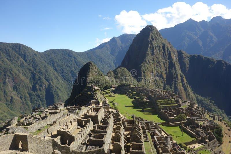 Machu Picchu, Peru stockfoto