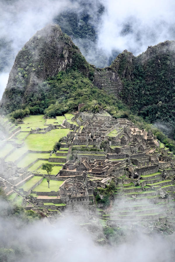 Machu Picchu, Peru. imagem de stock royalty free
