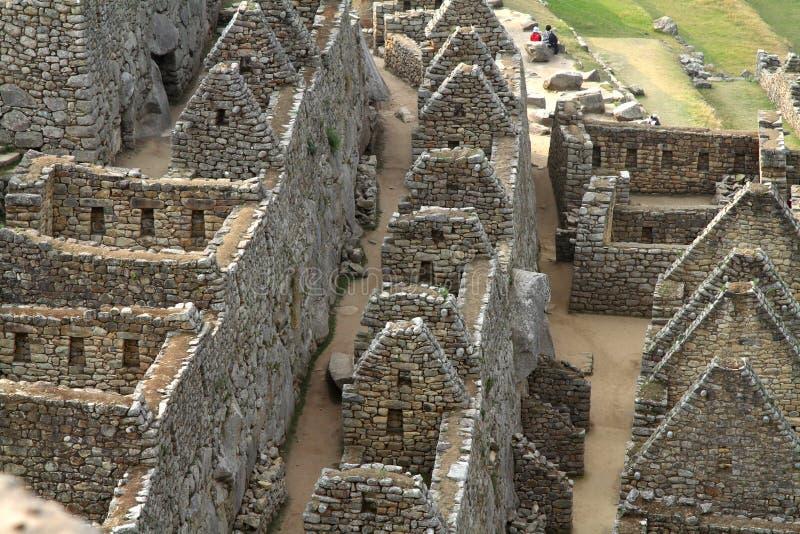 Machu Picchu (Peru) royalty-vrije stock afbeeldingen