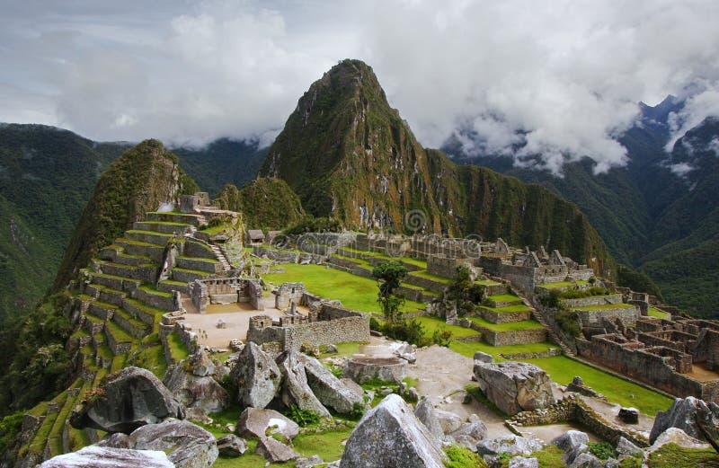 Machu Picchu in Peru royalty-vrije stock fotografie