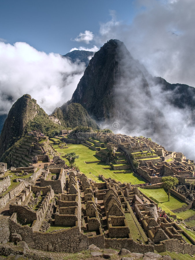 Machu Picchu (Peru) fotografia de stock royalty free