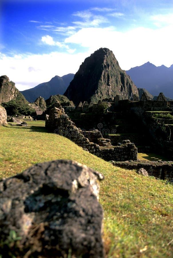 Machu Picchu- Peru lizenzfreie stockfotografie