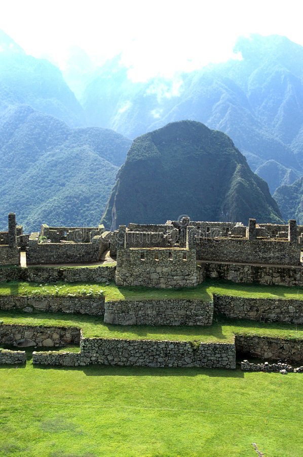 Machu Picchu- Peru stock photos