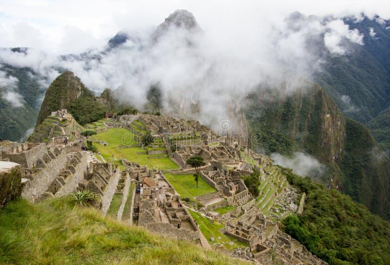 Machu Picchu Peru stockfotografie