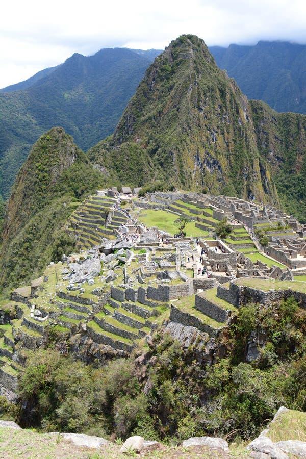 Machu Picchu peru fotografia de stock royalty free
