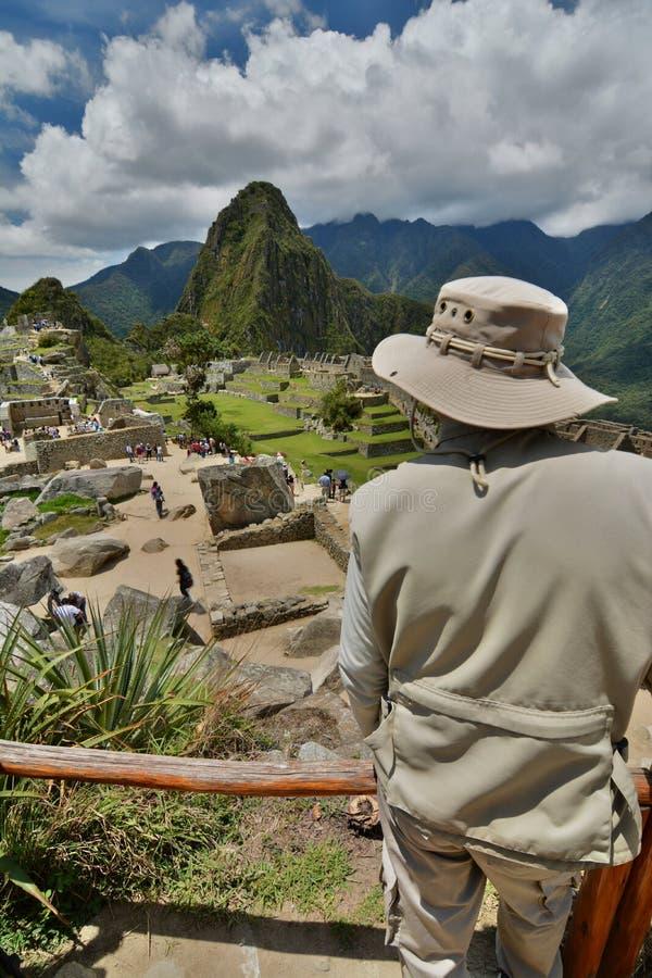 Machu Picchu peru stock afbeelding
