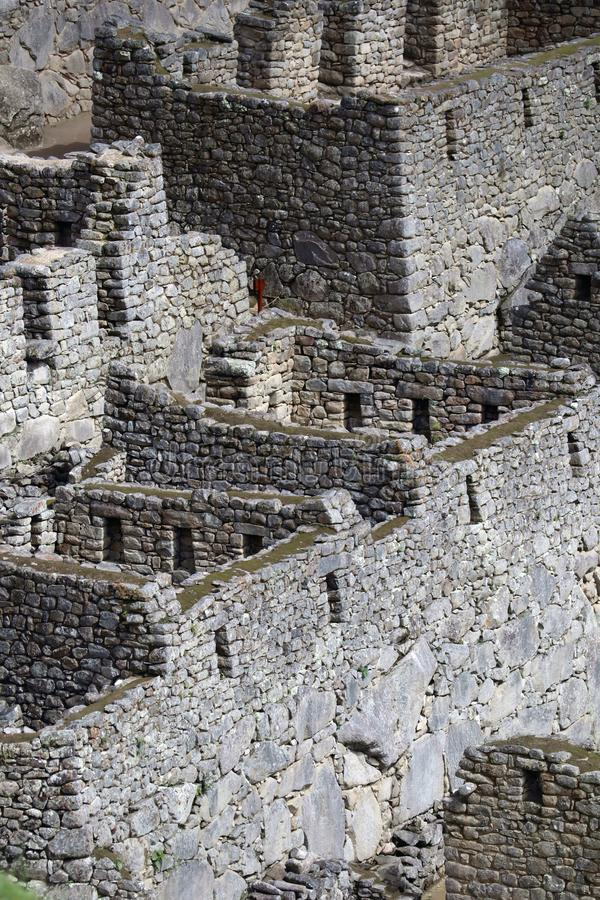 Machu Picchu Peru Details stock photography