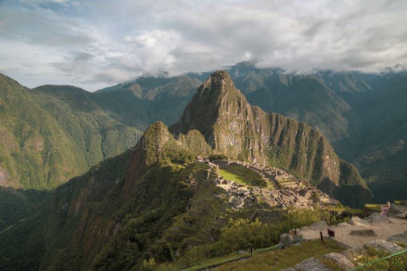 Machu Picchu in Peru - lost city of Inca. Indigenous, cusco, cloud, forest, architecture, scenic, culture, america, landmark, scenery, civilization, mystery stock photos