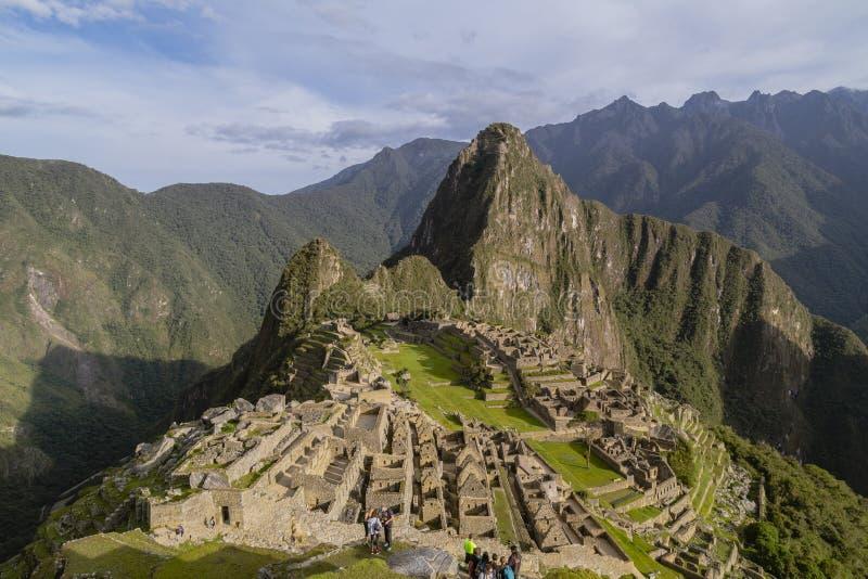 Machu Picchu in Peru - lost city of Inca. Indigenous, cusco, cloud, forest, architecture, scenic, culture, america, landmark, scenery, civilization, mystery stock images